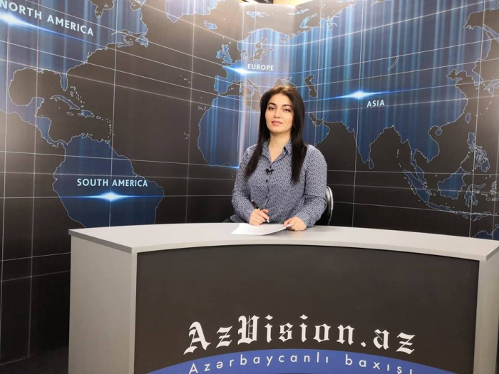AzVision TV releases new edition of news in English for October 15 - VIDEO