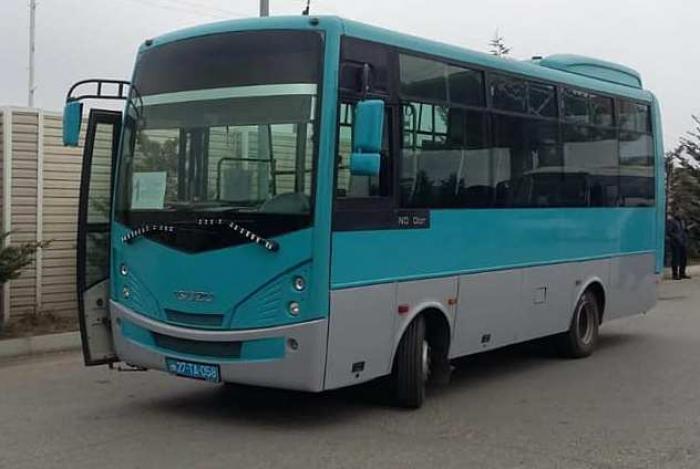 Qubalılar üçün yeni avtobuslar gətirildi