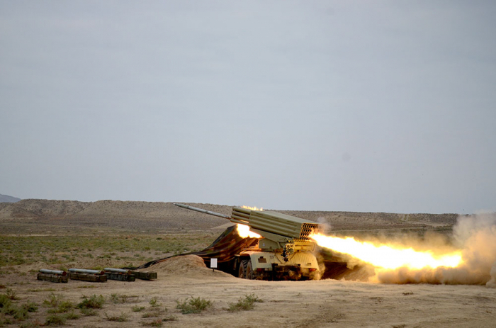 Azerbaijan's Rocket and artillery formations conduct live-fire exercises - PHOTOS/VIDEO