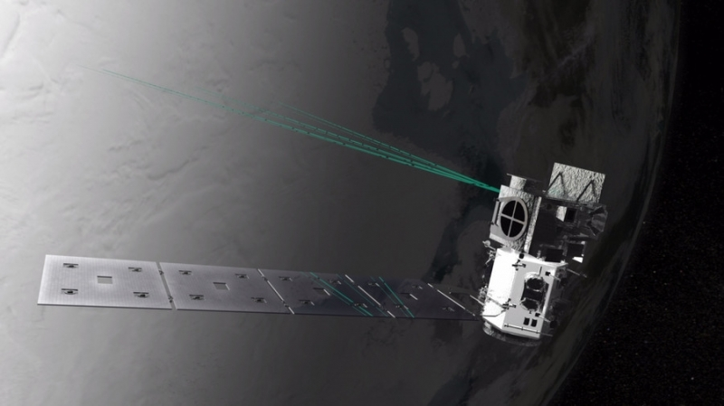 NASA blasts Antarctic with satellite laser to keep tabs on climate change - VIDEO