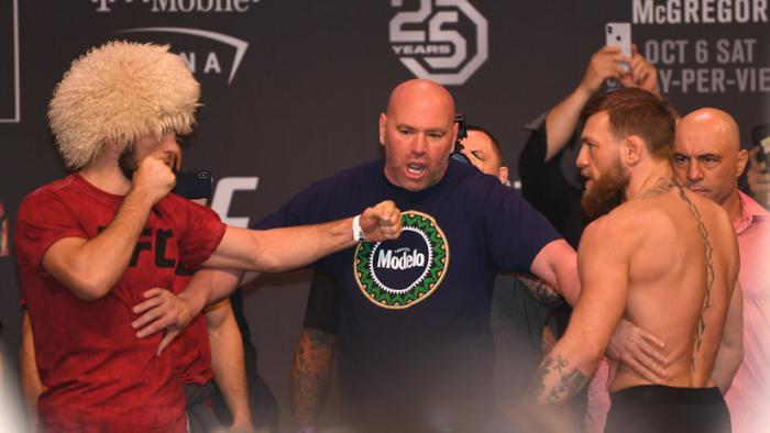 A pesar de la trifulca: La UFC no descarta una revancha Nurmagomédov-McGregor