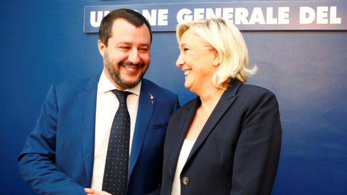 Salvini, Le Pen vow to start 'revolution of common sense'