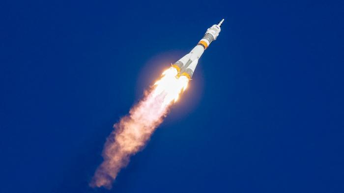 VIDEO: Momento de la falla durante el despegue del cohete Soyuz-FG