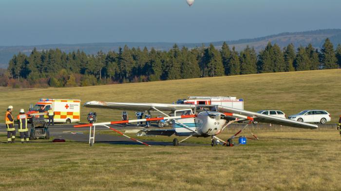 Opfer von Flugunfall in Hessen identifiziert: Mutter und zwei Kinder