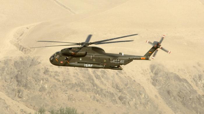 Afghanistan: Deutsche Hubschrauber nahe Kundus beschossen