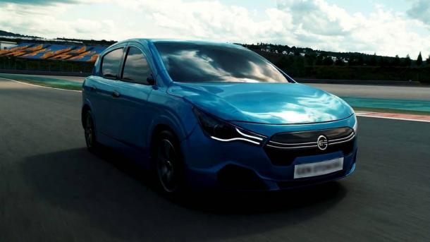La première voiture électrique de la Turquie exposée à Istanbul