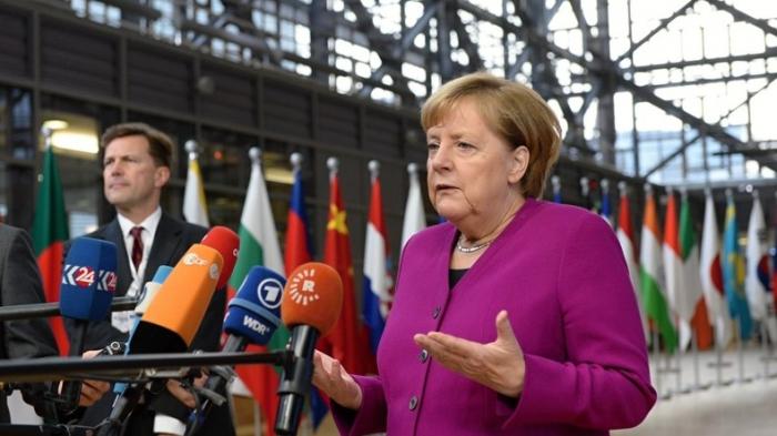 Merkel trifft Regierungschefs von Russland und China