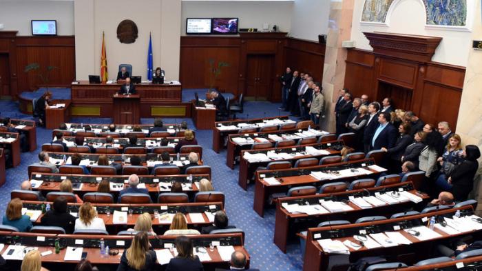 Mazedoniens Parlament leitet Änderung des Staatsnamens ein
