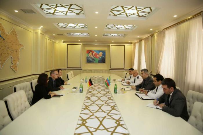Chairman of State Migration Service of Azerbaijan meets with German ambassador to Azerbaijan