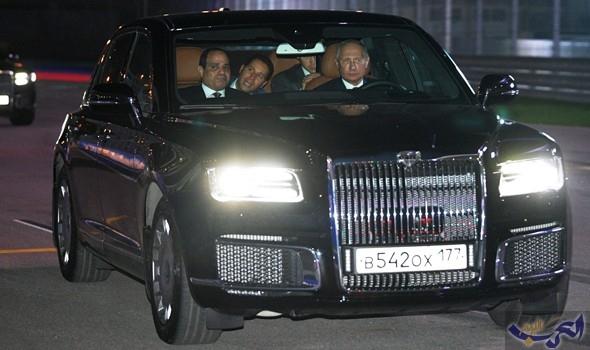 تعرف على السيارة التي اصطحب بوتين فيها السيسي