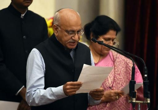 #MeToo en Inde: démission d