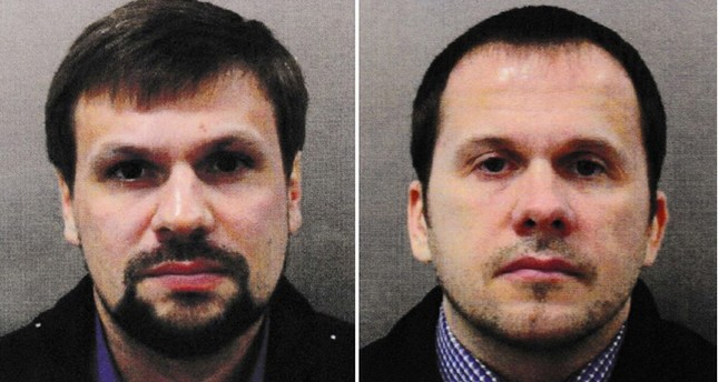 Second Skripal poisoning suspect named as Russian GRU agent