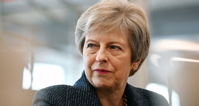 British PM May briefed inner cabinet
