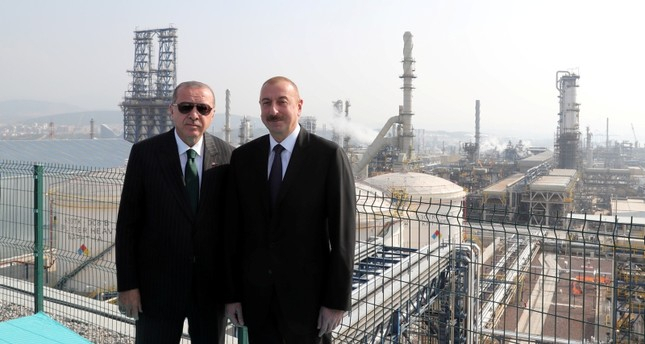 President Ilham Aliyev attends opening ceremony of SOCAR's STAR refinery in Turkey - LIVE