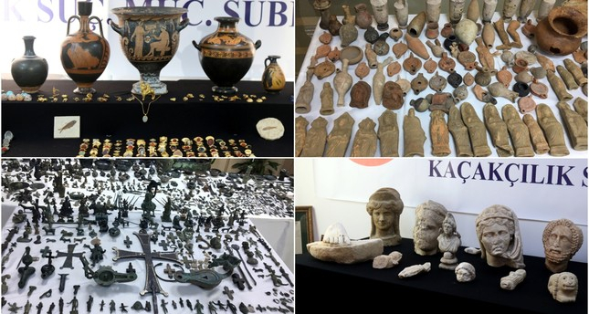 Istanbul police carry out largest-ever stolen artifact seizure