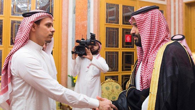 Königshaus empfängt Khashoggis Familie