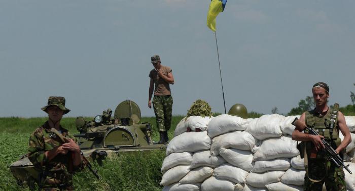 القوات الأوكرانية توثق 16 حالة قصف لمواقعها في دونباس خلال اليوم الفائت