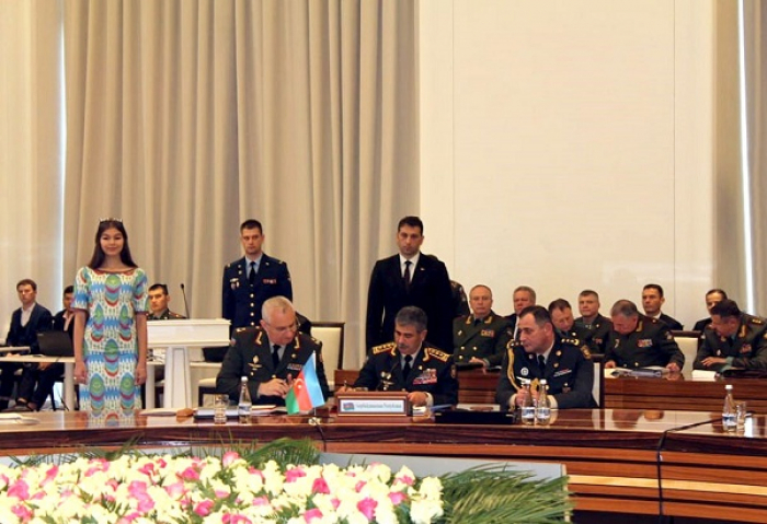 Zakir Hasanov attends regular meeting of CIS Council of Defence Ministers