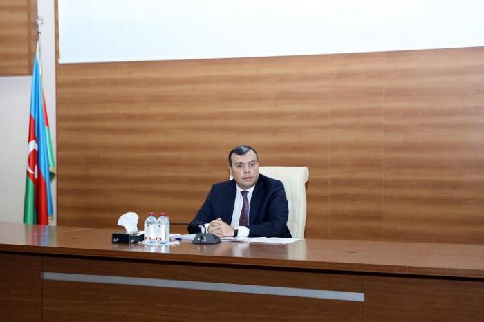 Sahil Babayev 9 ayın hesabatını verdi