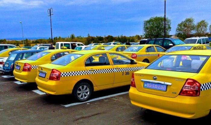 Naxçıvanda 496 taksi var
