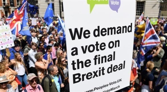 """تظاهرات مرتقبة في لندن ضد """"بريكيست"""""""