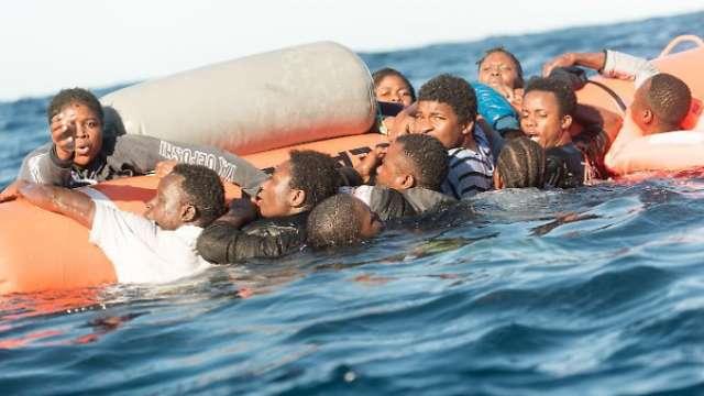 Jeder fünfte Flüchtlinge ertrinkt