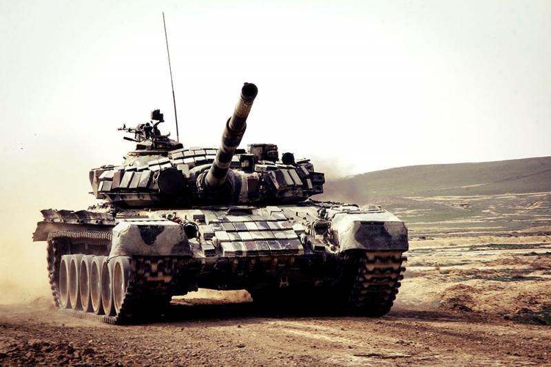 """""""Ən yaxşı tank bölüyü"""" yarışı başa çatıb"""