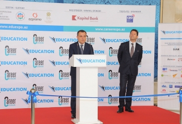 "12th Azerbaijan International Education Exhibition ""Education-2018"" kicks off in Baku"