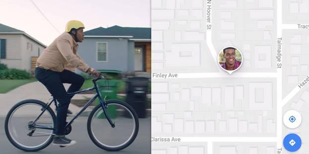 Google Maps permet désormais de partager sa position et son heure d