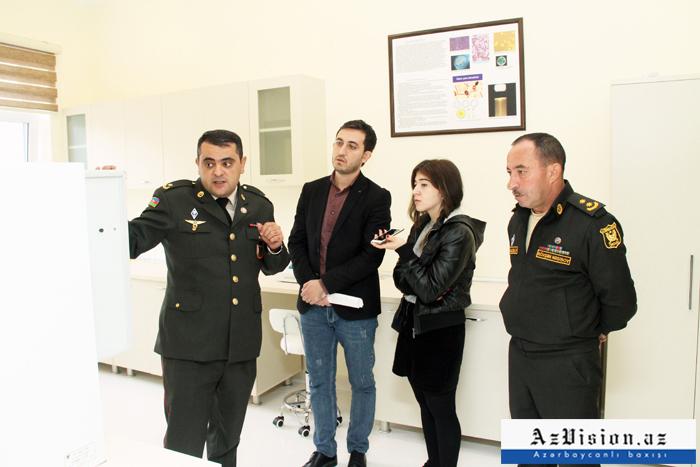 Azərbaycan Ordusunun qida laboratoriyasından XÜSUSİ REPORTAJ - (FOTOLAR)