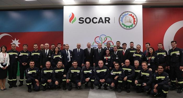 Turquía y Azerbaiyán abren gran refinería construida por Técnicas Reunidas
