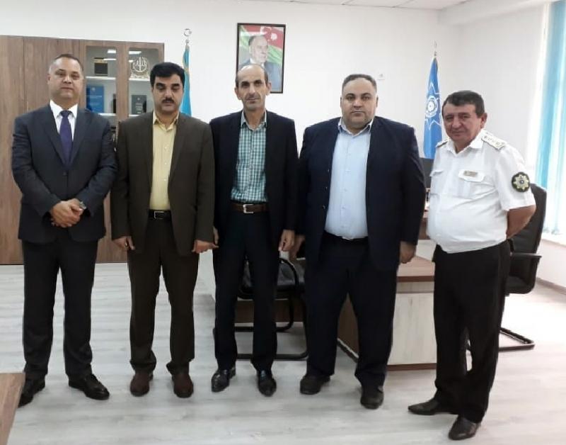 Azərbaycan və İran gömrükçüləri arasında görüş