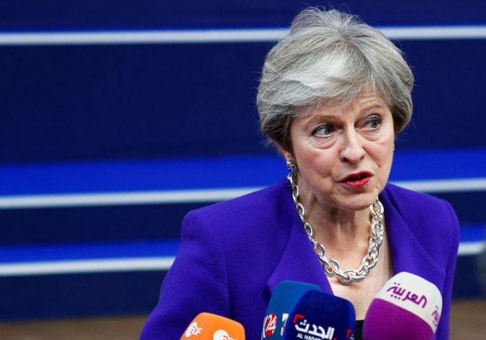 With transition talk, May tries to unlock Brexit