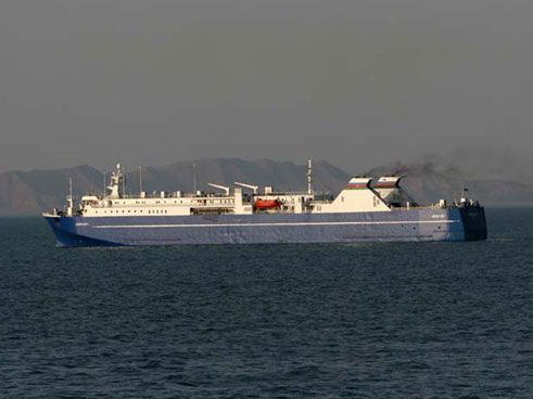 Massive poisining occurs among crew members of ship following from Aktau to Baku