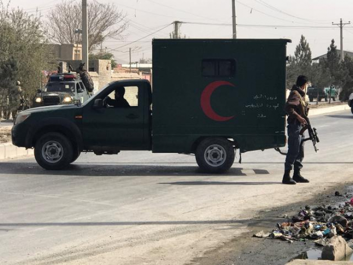 Afghan election commission officials injured in blast near Kabul headquarters