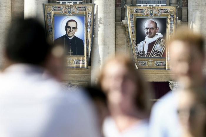 Francisco proclama santo a Romero, el defensor de los pobres de América Latina