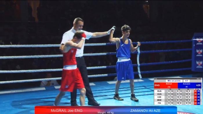 Azerbaijani boxer crowned European champion