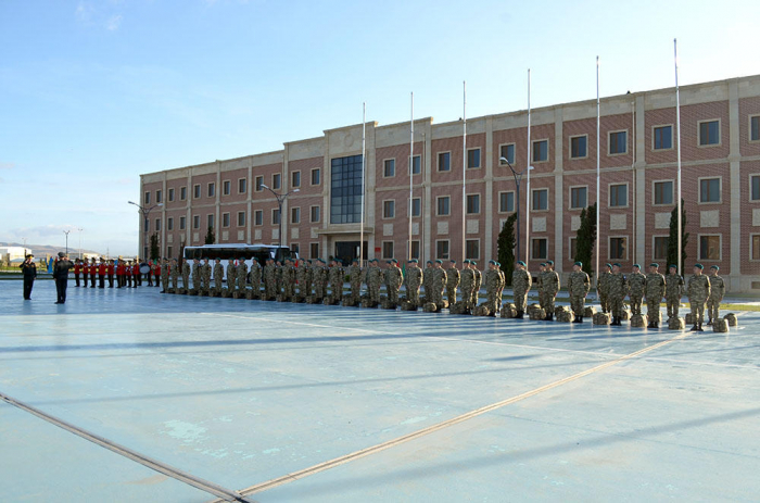 Azerbaijani peacekeepers leave for Afghanistan