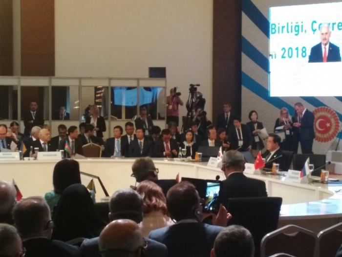 Azerbaijani speaker attends third meeting of Speakers of Eurasian Countries` Parliaments