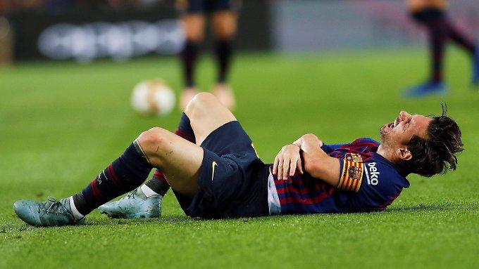 Barca muss ohne Messi zum Clasico