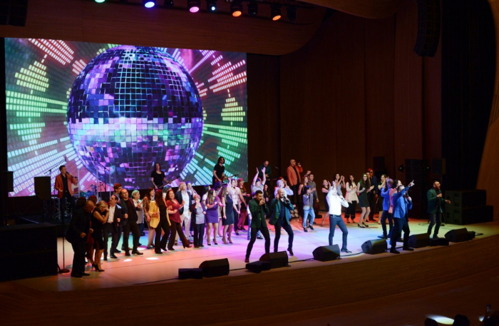 Russia's famous Turetsky Choir performs at Heydar Aliyev Center
