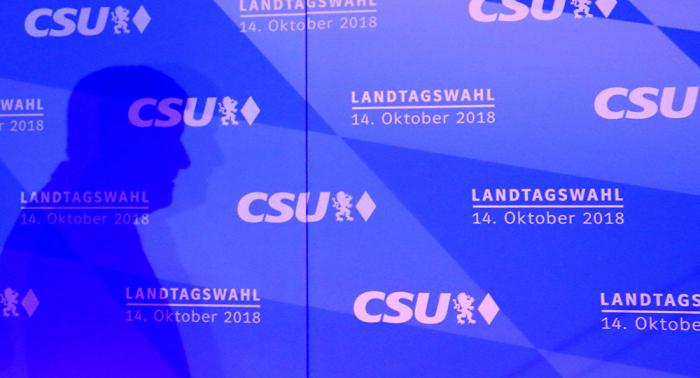 La CSU gana las elecciones en Baviera con el 39,2%