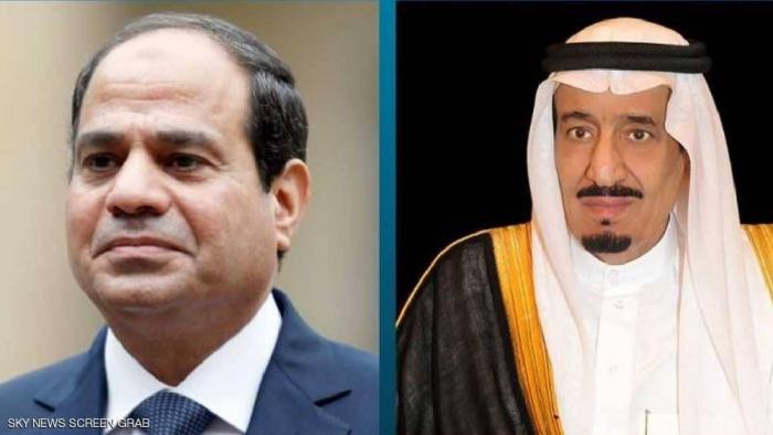 مباحثات ثنائية بين السيسي والعاهل السعودي