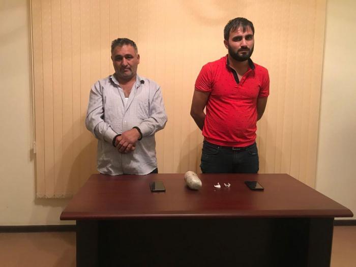 İrandan narkotik gətirən 3 nəfər tutuldu - FOTOLAR