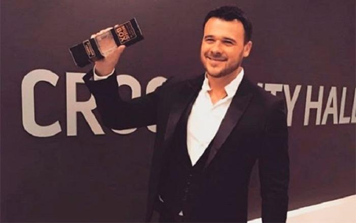 """Emin Ağalarov Rusiyada """"Ən yaxşı müğənni"""" seçildi"""