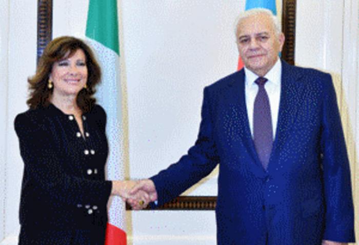 Senate president: Italy sees Azerbaijan as one of most loyal partners