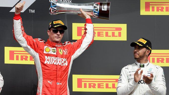 Ferrari verdirbt Hamilton vorzeitige WM-Party