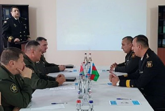 Baku hosted a meeting of military topographers of Azerbaijan and Belarus