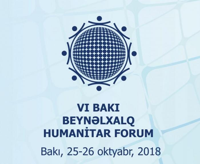 VI International Humanitarian Forum due to start in Baku