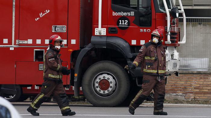 Un incendio en Barcelona deja al menos 18 heridos